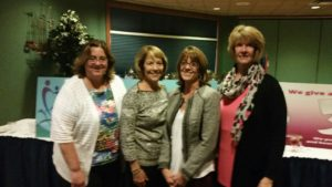 Founding Members: Linda Ziegler, Pat Babiuch, Mary Anne Baxter, and Martha Miller