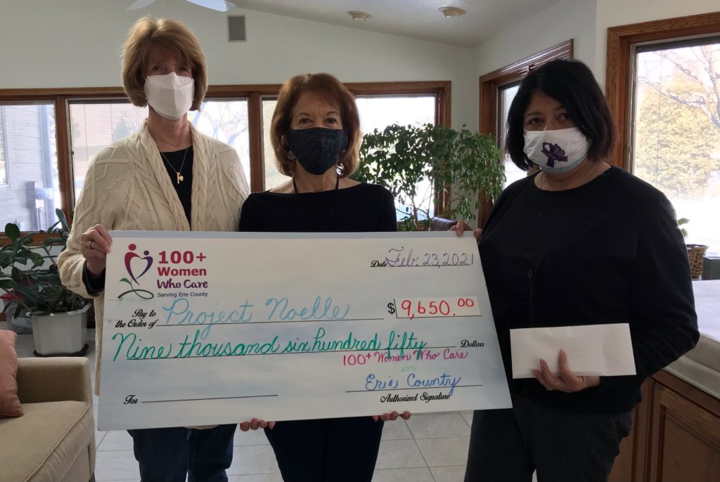 Check presentation to Project Noelle